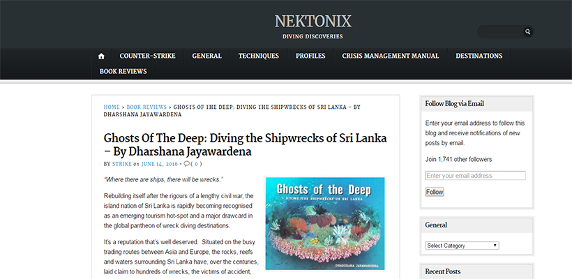 Ghosts of the Deep - Book Review