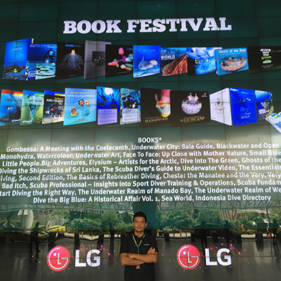 Ghosts of the Deep - ADEX 2016 Book Festival
