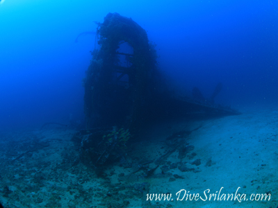 Taprobane North Wreck - SS Perseus