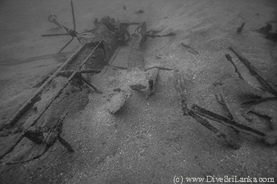 Consolidated Catalina PBY-5A debris
